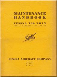 Cessna T-50 Aircraft Maintenance Manual 1943