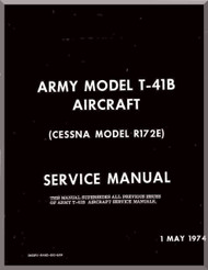 Cessna T-37 B Aircraft Structural Repair Instructions Manual