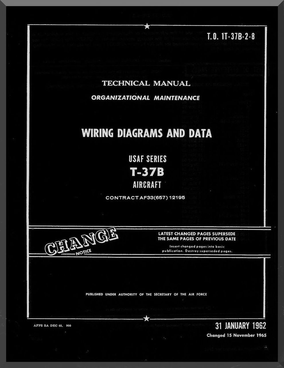 cessna t 37 b aircraft organizational maintenance manual wiring Scooter Wiring Diagram categories