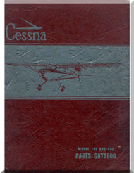 Cessna 120 140 Aircraft Illustrated Parts Catalog  Manual , 1949-1951