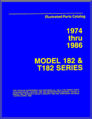 Cessna 182 & 185 Series Aircraft Illustrated Parts Catalog