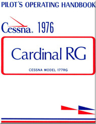 Cessna  177  Series 177 RG Cardinal  Pilot's Operating Handbook  Manual  1976