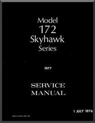 Cessna  172  Series Aircraft Service   Manual 1976