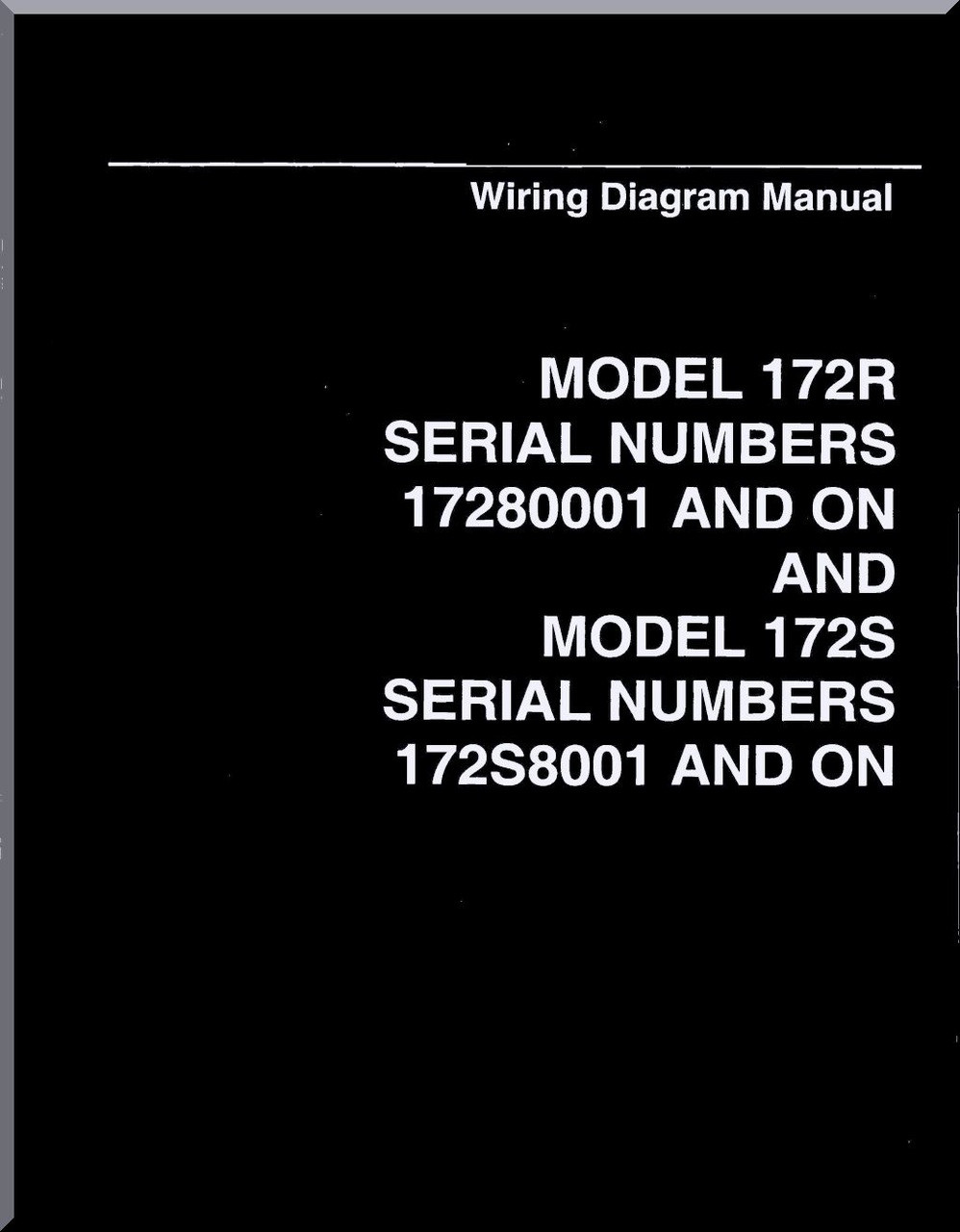 Cessna    172    R    172    S Series Aircraft    Wiring       Diagram    Manual  Aircraft Reports  Aircraft Manuals