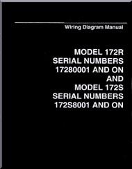 Cessna  172 R 172 S Series Aircraft Wiring Diagram Manual