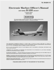 Boeing B-52 H Electronic Warfare Officer's Manual -  T.O. 1B-52H-1-13