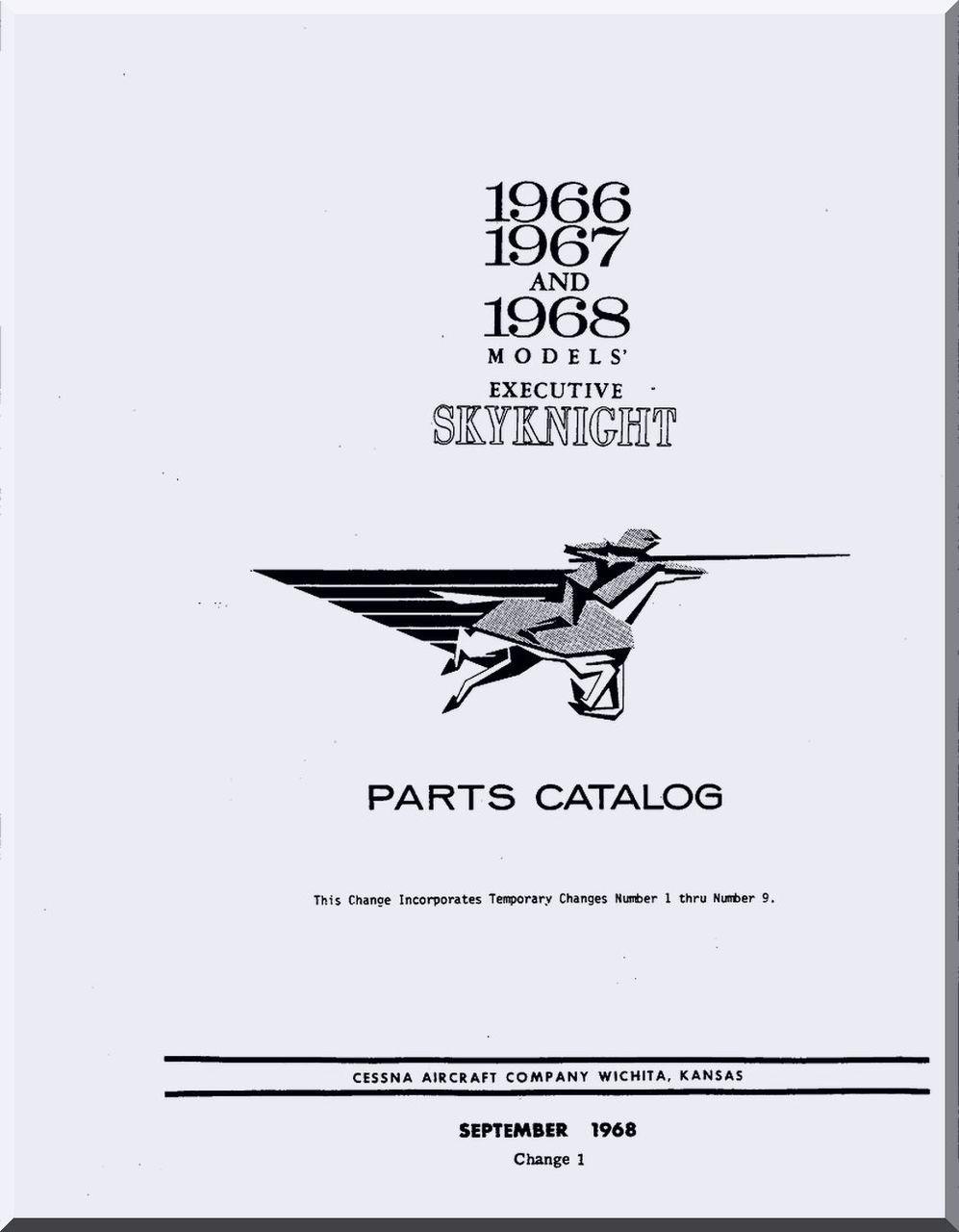 Cessna Skynight Aircraft Illustrated Parts Catalog Manual