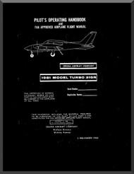 Cessna 310 R Turbo Aircraft Pilot's Operating Handbook Manual  , 1980