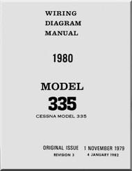 Cessna  335 Wiring Diagram  Manual  , 1980