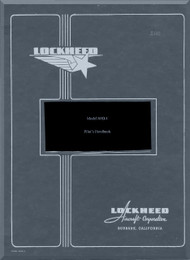 Lockheed R60-1  Constitution Aircraft Pilot's Flight Handbook Manual -