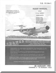 Lockheed C-5A Aircraft Flight Manual - 1C-5A-1 - 1982