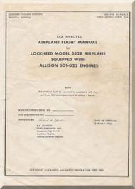 Lockheed L-382 B Flight  Manual, SMP 514, 1965