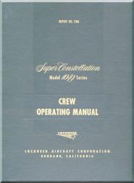 Lockheed L-1049 Aircraft Flight Manual - 1951