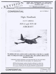 Lockheed P2V-5 and P2V-5F Aircraft   Flight Manual, NAVAIR 01-75EDA-1,  1955