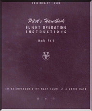 Lockheed  PV-1  Aircraft Pilot  Handbook  Manual, Preliminary Issue  1944