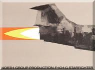 Lockheed F-104 G North Group  Aircraft Technical Brochure Manual