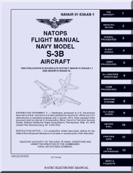 Lockheed S-3B  Aircraft  Flight Manual