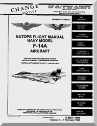Grumman F-14 A Aircraft Flight Manual - 01-F14AAA-1 - 1995