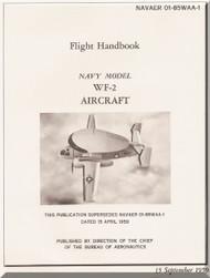 Grumman WF-2 Aircraft Flight Manual - 01-85WAA-1 - 1959