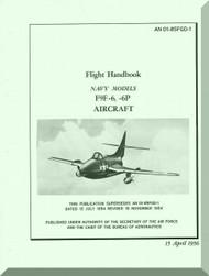 Grumman F9F-6,-6P  Flight Handbook Manual NAVAER  01-85FGD-1, 1956