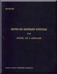 Grumman J2F-4  Erection and Maintenace  Instructions  Manual
