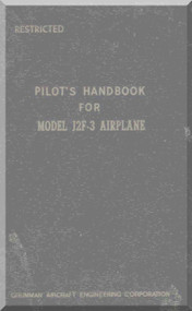Grumman J2F-3 Pilot's Handbook of Flight Operating Instructions  Manual ,  1944