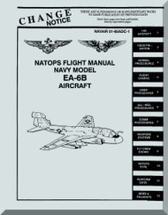 Grumman EA-6B  NATOPS Flight Manual NAWEPS 01-85ADC-1