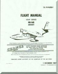 Grumman HU-16 Aircraft  Flight  Manual TO  1U-16(H)B-1 1967