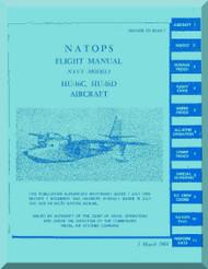 Grumman HU-16 Aircraft Flight Manual - 0185AC-1 - 1968