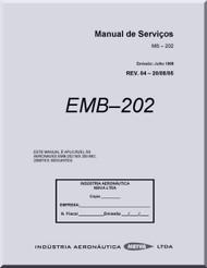 Embraer EMB-202 Aircraft Flight Service Manual ( Portuguese Language )