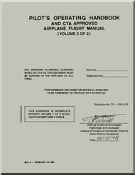 Embraer EMB-110 Aircraft Flight Operating Hanadbook Manual Volume 2