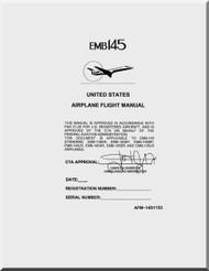 Embraer EMB-145 Aircraft  Airplane Flight Manual