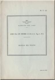 CASA 1.131 Jungmann / Bücker Bü 131 Aircraft Flight Manual  - ( Spanish Language )