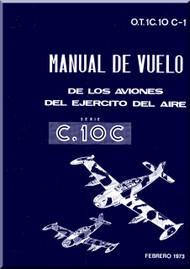 Hispano Aviácion HA 200  C-10C Saetta  Aircraft Flight Manual - ( Spanish Language )