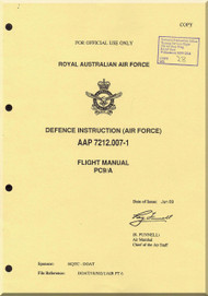 Pilatus PC-9 / A  Aircraft  Flight  Manual -  ( English Language )