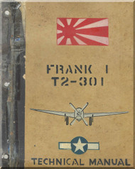 Nakajima Ki-84 Frank T2-301 Aircraft Technical Analysis Manual
