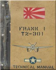 Nakajima Ki-84 Frank T2-301 Aircraft Technical Analysis Manual
