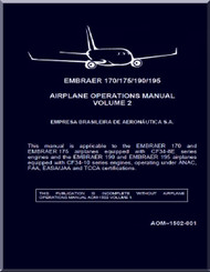 Embraer 140 / 175 / 190 / 195  Aircraft Flight Operation Manual  Volume 2