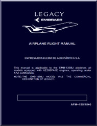 Embraer 135 BJ   Aircraft Flight Manual
