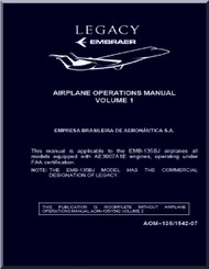 Embraer 135 BJ Legacy Aircraft Flight Operations Manual  Volume 1