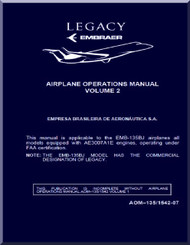 Embraer 135 BJ Legacy Aircraft Flight Operations Manual  Volume 2