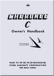 Piper Aircraft   Pa-28 Cherokee  Aircraft Owner's Handbook Manual