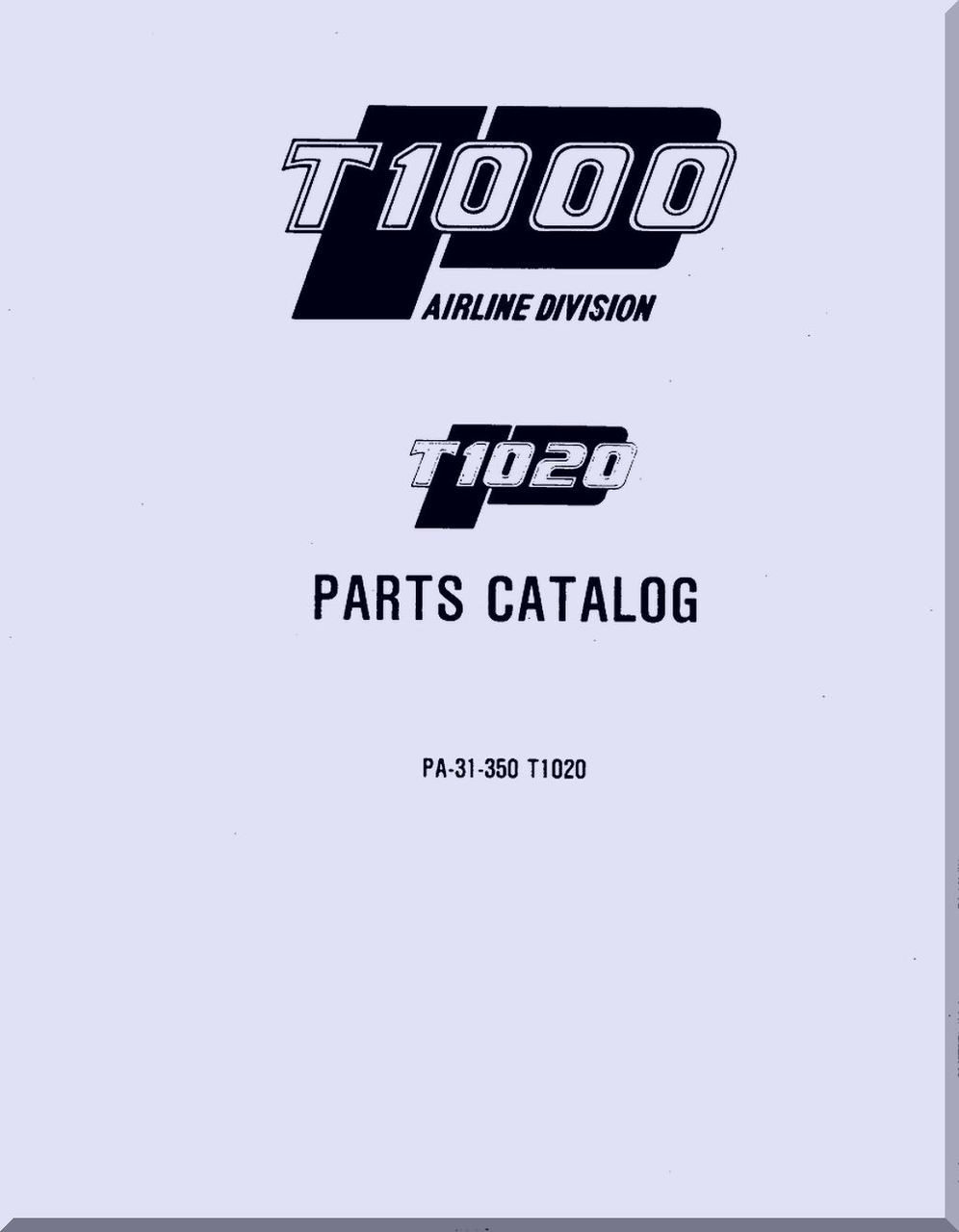 Piper PA-32R-301//301T Saratoga II//HP//TC Parts Catalog Manual