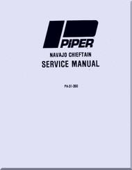 Piper Aircraft   Pa-31-350 Navajo Chieftain   Aircraft Service Manual