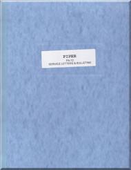Piper Aircraft   Pa-12  Cub Super  Cruiser Service Letter Bulletins Manual