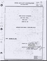 Piper Aircraft   Pa-16 Clipper  Flight  Manual