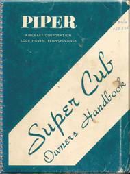 Piper Aircraft   Pa-18 Super  Cub  Owners Manual