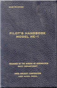 Piper Aircraft   NE-1   Pilot's Handbook  Manual