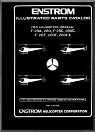 Enstrom Helicopter  Model F28F and 280 F Illustrated Parts Catalog Manual