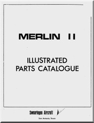 Fairchild Swearing  Metro II  Aircraft Illustrated Parts Catalogue  Manual